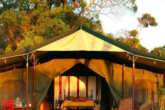 tented camp in masai mara