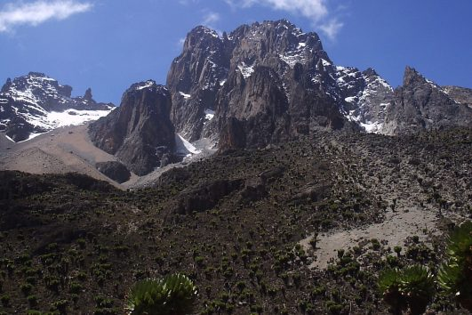 Mt Kenya Climbing