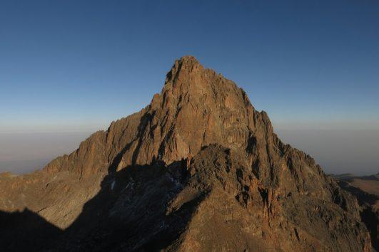 a peak on mount kenya